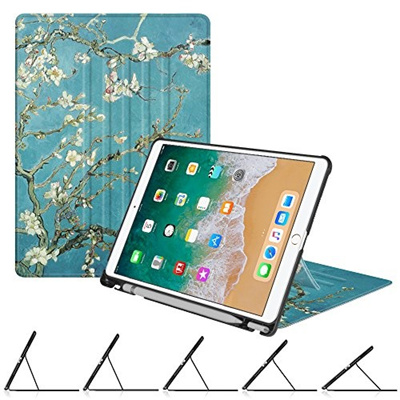 brand new f6d5d 606c4 Fintie iPad Pro 10.5 Case with Built-in Apple Pencil Holder - [Multiple  Secure Angles] Slim Shell Ma
