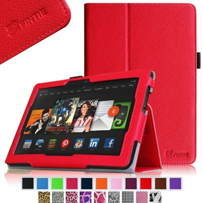 Fintie Kindle Fire HDX 8 9 Folio Case Slim Fit Leather Cover (will fit  Amazon Kindle Fire HDX 8 9