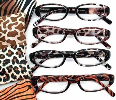 52e1449a0b Qoo10 - Fiore® 4 Pack Designer Style Safari Reading Glasses High Gloss  Pearl F...   Fashion Accessor.