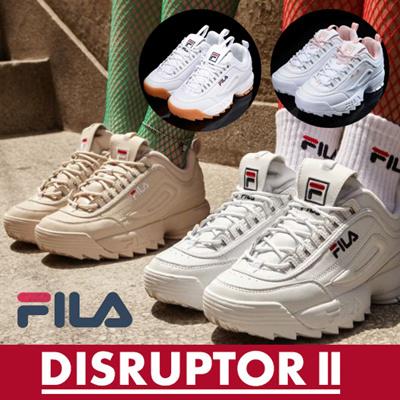 【Fira】 FILA DISRUPTOR 2 / Genuine / Original FILA HERITAGE CROSS TRAINNING  FS 1 HTZ 3074 X FS 1 HTZ 3071 X