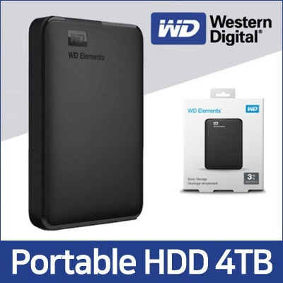 [Western Digital]★First 30QTY★ WD ELEMENTS Portable Storage 4TB HDD ★  External Hard Drive Disk / WD