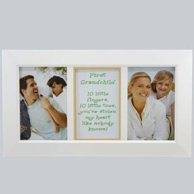Qoo10 - First Grandchild Frame - Gift for New Grandparents - White ...