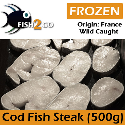 Qoo10 - Cod Fish Steak 500g : Groceries