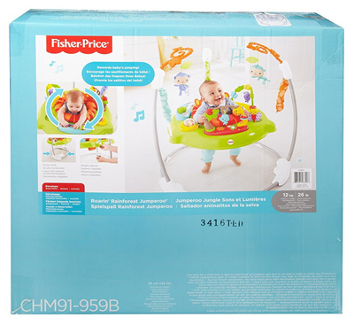9a3bd2ae9 Qoo10 - PRE-ORDER Fisher-Price CHM91 Roaring Rainforest Jumperoo New ...