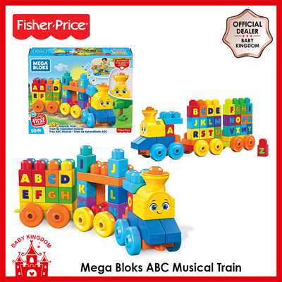 Fisher Price PromoFisher-Price Mega Bloks ABC Musical Train