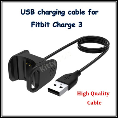 Fitbit Charging USB Cable Charge 3 / Charge 2 / Flex 2 / Versa / Ionic /  Charge Force / One