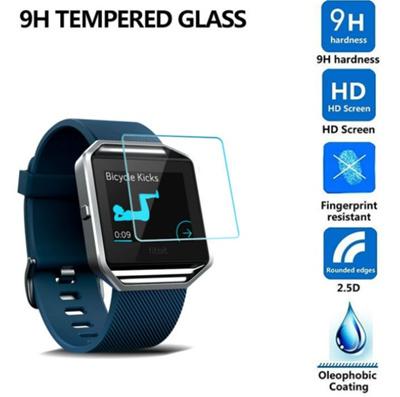 Fitbit Fit Bit Blaze Thin 9H/ Samsung Galaxy Gear S2 Tempered Glass / HD Screen