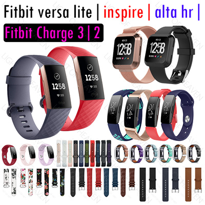 Fitbit versa lite inspire alta hr ionic charge 3 2 strap case accessories  watch band straps