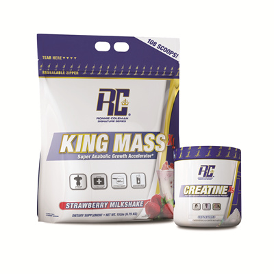 [Bundle] Ronnie Coleman King Mass XL (15 lb) + Ronnie Coleman Creatine
