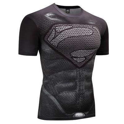 7cee3cb29eda Qoo10 - Fitness Compression Shirt Men Anime Bodybuilding Rashgarda rashguard  M... : Sports Equipment