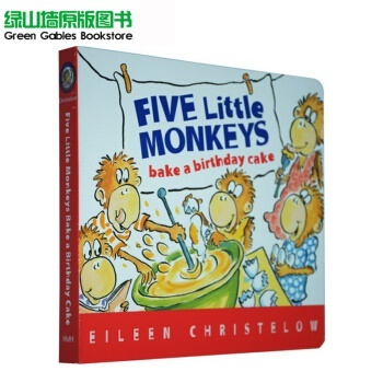 Swell Qoo10 Five Little Monkeys Bake A Birthday Cake Five Monkey Funny Birthday Cards Online Inifofree Goldxyz