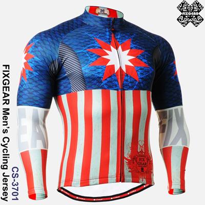FIXGEAR CS-3701 Mens Cycling Jersey Road Mountain Bike Shirts MTB Bicycle  Ride a9d95c71f