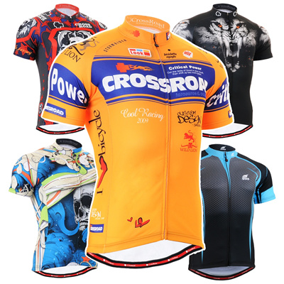 FIXGEAR CS Short Series Men s Cycling Jersey Short Sleeve Road Mountain Bike  Shirts MTB Bicycle Ride 6361e3ce7