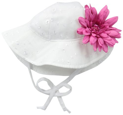 Qoo10 - Flap Happy Baby Girls Upf 50+ Floppy Hat with Flower   Baby    Maternity 14a99df2fa80