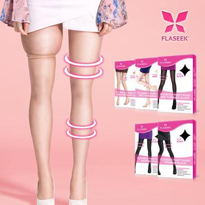 2130ef26d92 Qoo10 -  Flaseek Compression Tights   Pantyhose   Stocking   Leg Shaper    Legg...   Underwear   Sock.