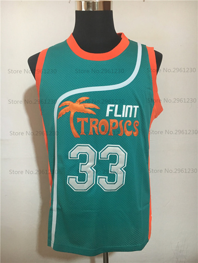 25c6f028c72 Qoo10 - Flint Tropics Movie basketball jerseys Semi Pro #33 Jackie Moon  Jersey... : Sports Equipment