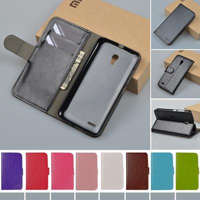 Flip PU Leather Wallet case For Alcatel One Touch Pop 2 7043A 7043Y 7043K /  Pop 2 Premium 7044