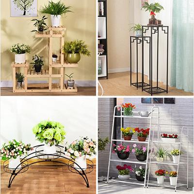 [Flowerpot Shelf] Plant Stand Plant/ Outdoor Plant Display Stand / Plant  Organizer /