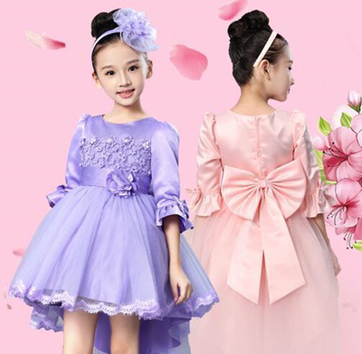 Qoo10 ワンピース ドレス Pakaian Anak