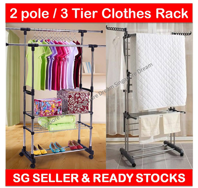 Qoo10 Cloth Drying Rack Furniture Amp Deco