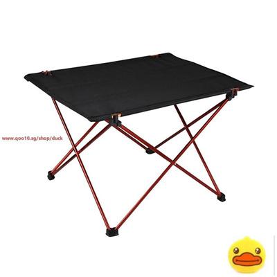 Qoo10 Foldable Folding Table Desk Cing Outdoor Picnic Aluminium