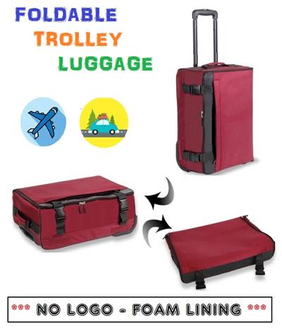 Qoo10 ★foldable Suitcase Bag Wallet