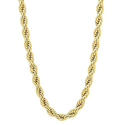 Qoo10 folks gold plated rope chain necklace 24k gold overlay usa folks gold plated rope chain necklace 24k gold overlay usa made lifetime warranty 30x thicker mozeypictures Gallery