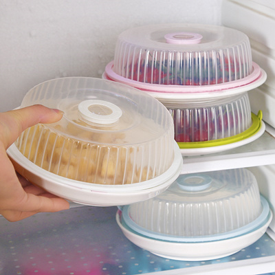 Food Grade Silicone PP microwave plastic food cover refrigerator fresh lids