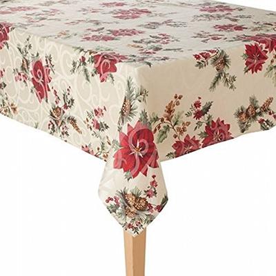 Qoo10 Food Network Juniper Berry Christmas Tablecloth Fabric Table