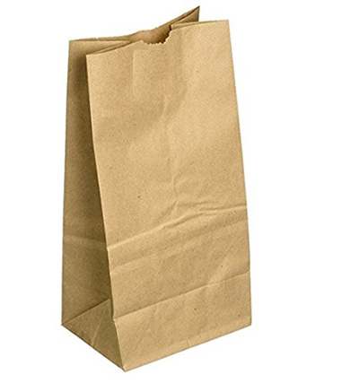 Food Safe Paper Lunch Bags 40 Count Brown