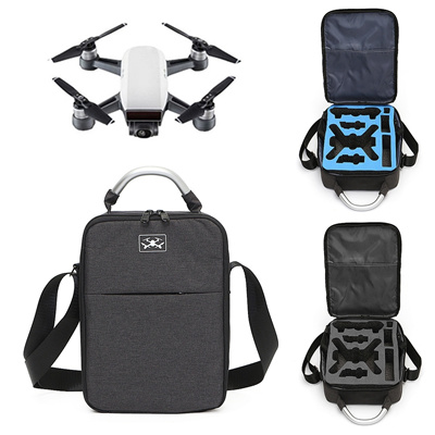 For DJI Spark - 2 Colors Waterproof Shoulder Backpack Handheld Carrying Bag  Storage Box 29 5*22*8cm(