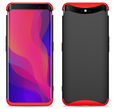 the latest 0c78e 6f8a6 For OPPO Find X Case 360 Degree Protected Full Body Phone Case for OPPO  Find X Case Shockproof Cover