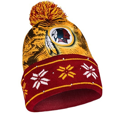 Qoo10 - (Forever Collectibles) NFL Big Logo Light Up Printed Beanie Knit Cap-    Fashion Accessories 6c29be996