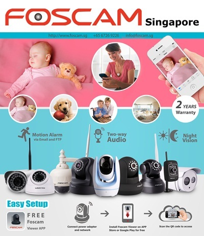 Foscam - We are the sole distributor of Foscam IP cameras in