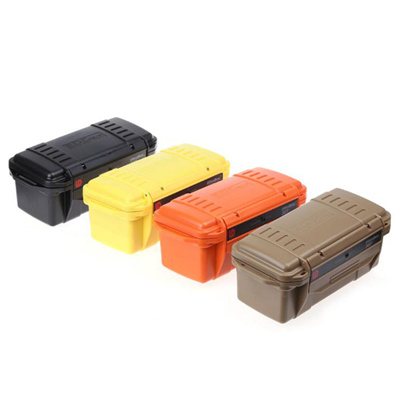 763c4002805d Four Color Shockproof Waterproof Boxes Survival Airtight Outdoor Case  Holder Storage Matches Tools