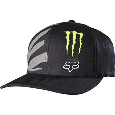 Qoo10 - FoxPrint Fox Racing Mens Monster Zebra Flexfit Hat Small Medium  Black   Fashion Accessories b7eab2a9b397