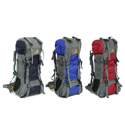 cdd1577ad8da Free Knight Extra Large 60L Nylon Waterproof Mountaineering Backpack  Outdoor Sport Climbing Hiking T