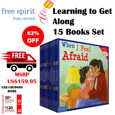 Free Local Delivery[free spirit Publishing] Learning to Get Along 15 Books  Set + Harry Potter Roald Dahl Seller