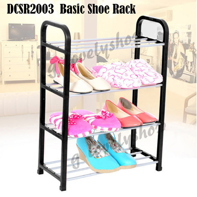 Compact Simple Easy DIY Shoe Rack Shoe Cabinet Shoes Storage Organiser