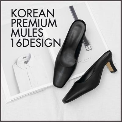 c94a6adfb Qoo10 - ☆FREE SHIPPING☆ Korean Premium Fashion Mules / 16 Design / Flat  Shoes ... : Shoes