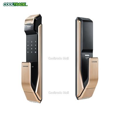 [Free Shipping] Samsung Ezon SHS-P910 PUSH PULL Smart Door Lock /  Fingerprint Recognition Digital Door Lock / Touch-type