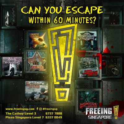 Escape Room Singapore Promotion