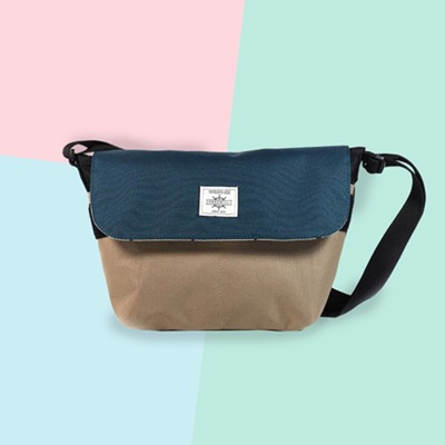 ☆Local Shipping☆ FREEWILL Messenger Bag for Unisex Sling Bag Made in Korea f34cce95d7dd5
