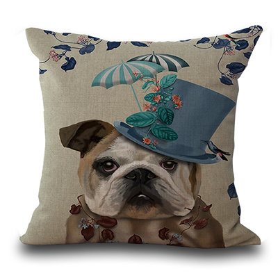 Qoo40 French Bulldog French Bulldog Cushioning Pillows Home Decor Gorgeous French Pillows Home Decor