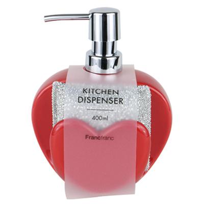 French Fridge Kitchen Detergent And Sponge Storage Case Red