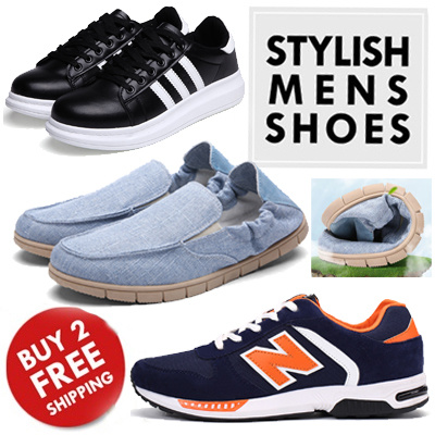 qoo10 mens shoes loafers winter boots mens casual shoes