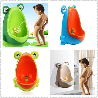 1x Frog Kids Potty Toilet Training Children Urinal for Boys Pee Trainer Bathroom