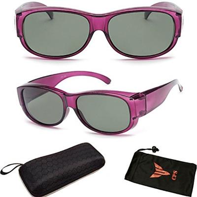 72c89f7bd2992 Qoo10 - ( FTOVR  2 Prp) 1 Pair Polarized Lenses Prescription Men Women Fit  Ove...   Fashion Accessor.