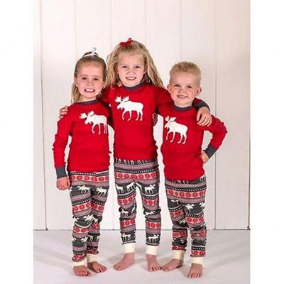 d2ec0b4d372a Fuaie Christmas Children Adult Family Matching Outfits Christmas Pyjamas  Sleepwear Pajamas Set