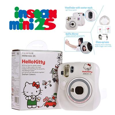 33a34aaf9 Qoo10 - [Fujifilm] Instax Mini 25 Instant Camera - Hello Kitty * 1 Year  Warran... : Cameras & Record.